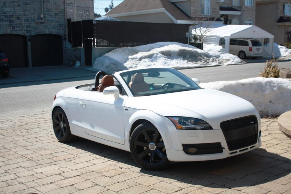 white audi a4 with black rims for sale