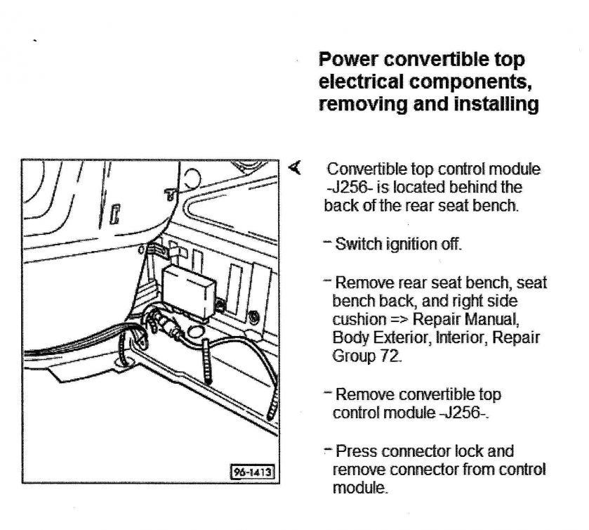 02 Cabrio Convertible Top Wiring Diagram Wiring Diagram