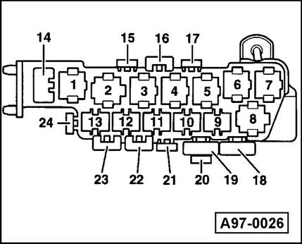 cooling fan relay diagram
