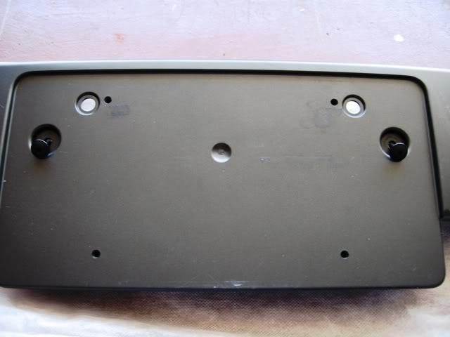 2008 Audi Tt Remove Front License Plate Holder