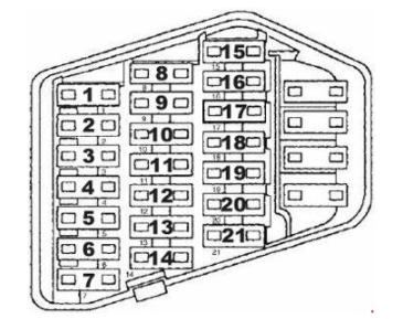 Citroen C4 Pico Fuse Box Diagram - Auto Electrical Wiring Diagram on