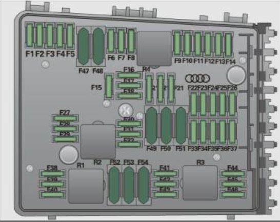 Audi A3 3 2 Fuse Box Wiring Diagram