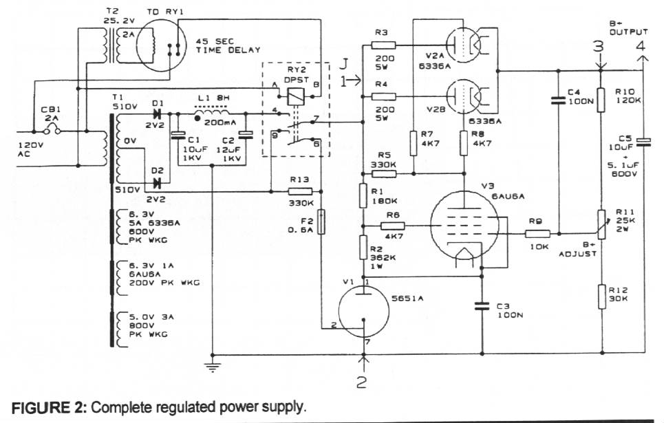 25w hi fi audio amplifier circuit with mosfet