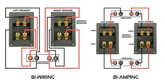 Sensational Bi Wiring Speakers Diagram Wiring Diagram Schematics Wiring Digital Resources Indicompassionincorg