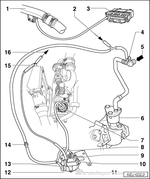 1 9 sefi Diagrama del motor