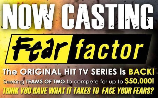 now casting fear factor