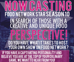 Food Network Star Audition