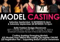 event for fashion models wanted