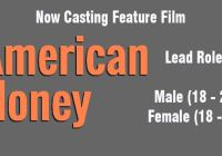 Online auditions for lead roles