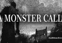 child auditions in the UK for feature film A Monster Calls