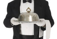 Casting actors in Los Angeles to play a Butler and wait staff