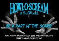 Seaworld Howl-o-scream auditions