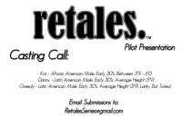 Casting call in NYC for a new Pilot