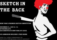 Sketch comedy contest
