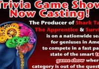 new trivia game show now casting
