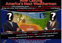 Now casting America's Next Weatherman