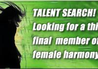 girl group auditions in Florida