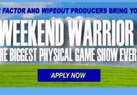 Weekend Warrior Reality Show Casting Call