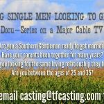 TV Show Casting Bachelors Ready To Settle Down Nationwide