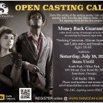 """Open Auditions for Indie Film """"Money Back Guarantee"""" in Atlanta"""