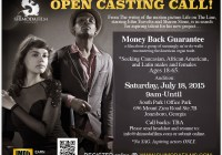 Open auditions in Atlanta for movie
