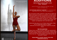 Dance theater auditions in DC