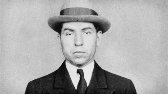 a biography of charles lucky luciano an italian american gangster Italian american gangster charles 'lucky' luciano italian american gangster charles 'lucky' luciano find this pin and more on a little history by njhred.