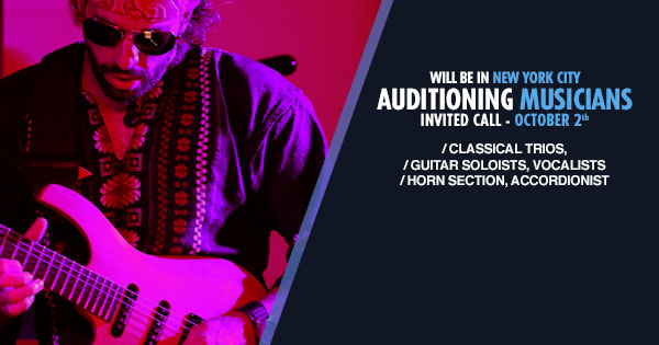 Carnival Cruises Auditions for musicians
