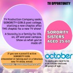 Casting Call for Sorority Sisters Nationwide for New Reality Show