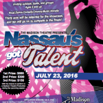 "Open Auditions for ""Nassau Has Talent"" Talent Show"