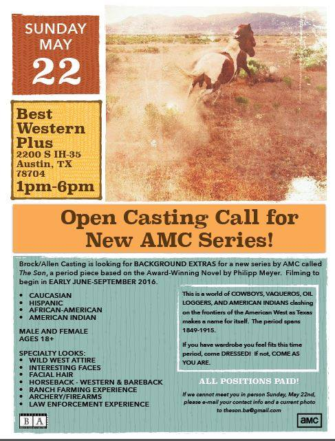 The Son open call information