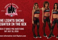 Toronto Raptors dance team auditions