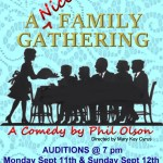 "Comedic Stage Play ""A Nice Family Gathering"" Open Casting Call in Clearwater, FL"