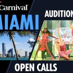 Carnival Cruises Holding Auditions for Singers and Dancers in Miami