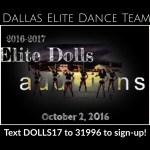 Cheerleader & Dance Team Auditions in Dallas