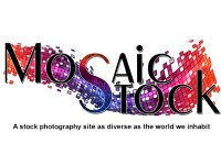 Mosaic stock photo shoot