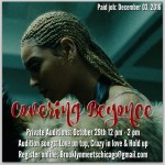 "Open Auditions for Female Singers in Chicago for ""Covering Beyonce: The Jay-Z Tribute Concert"""