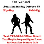 Hip Hop Dancer Auditions in Chicago