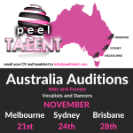Auditions in Australia (Sydney, Brisbane & Melbourne) Singers and Dancers