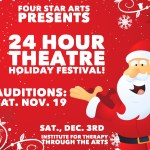 Calling Actors, Writers & Directors for The 24 Hour Holiday Theater Festival in Chicago