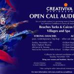 Open Auditions in Toronto for Shows at Caribbean Resorts