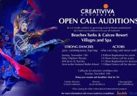 Creativia auditions