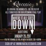 "Acting Auditions, Actress for Atlanta Area Stage Play ""Where it All Goes Down"""