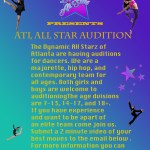 Dance Auditions for Kids & Teens in Atlanta – Dynamic All Starz Dance Team