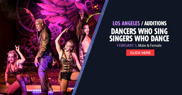 Open Auditions In Los Angeles For Singers Amp Dancers To Join Carnival Cruises Auditions Free