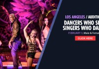 Dancer auditions in LA for Carnival Cruises