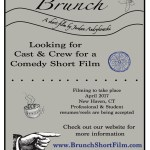 "Auditions for Speaking Roles in New Haven CT For Student Film ""Brunch"""