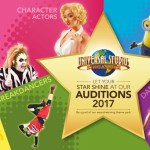 Worldwide Video Auditions for Universal Studios Singapore Tour 2017, AUS, US, UK & South Africa
