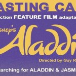 "Auditions for Lead Roles in Disney Movie ""Aladdin"""