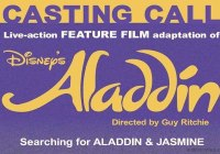 Aladdin casting